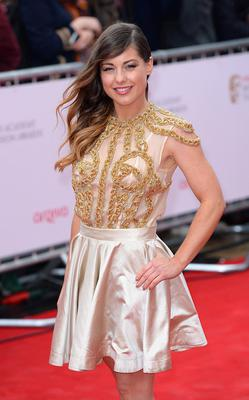Louise Thompson arriving for the 2013 Arqiva British Academy Television Awards at the Royal Festival Hall, London. PRESS ASSOCIATION Photo. Picture date: Sunday May 12, 2013. See PA story SHOWBIZ Bafta. Photo credit should read: Dominic Lipinski/PA Wire