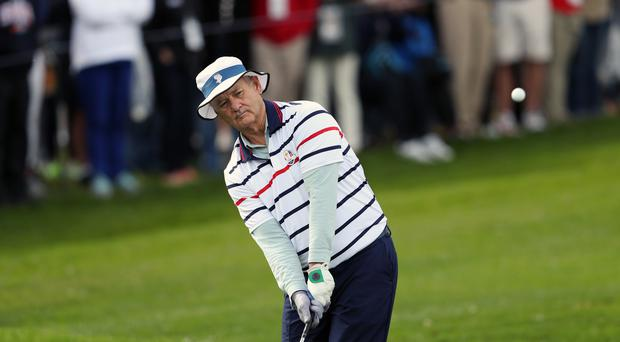 Actor Bill Murray playing golf on a previous occasion (David Davies/PA)