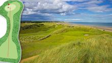Corballis Links - 4th, 105 yards, par 3 - is number 48 on our list.