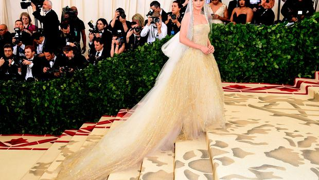 Kate Bosworth attending the Metropolitan Museum of Art Costume Institute Benefit Gala 2018 in New York, USA. PRESS ASSOCIATION Photo. Picture date: Monday May 7, 2018. See PA story SHOWBIZ MET Gala. Photo credit should read: Ian West/PA Wire
