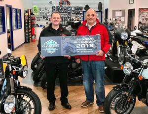 Classic idea: Phillip McCallen and co-promoter Robin Titterington are hoping their Bike Festival will be a resounding success