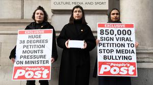The petition was handed in on Tuesday (Kirsty O'Connor)