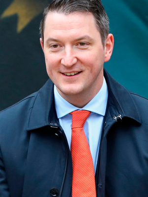 John Finucane (pictured) is challenging Nigel Dodds for the North Belfast seat