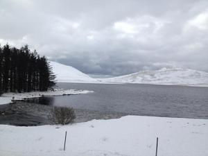 Flashback to snowy 2013: Spelga Dam in the Mournes. Submitted on behalf of Lynette Cooke.