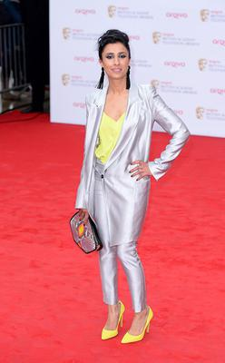 Anita Rani arriving for the 2013 Arqiva British Academy Television Awards at the Royal Festival Hall, London. PRESS ASSOCIATION Photo. Picture date: Sunday May 12, 2013. See PA story SHOWBIZ Bafta. Photo credit should read: Dominic Lipinski/PA Wire