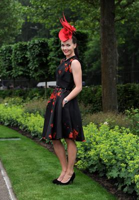 ASCOT, UNITED KINGDOM - JUNE 20: Victoria Pendleton attends Ladies Day on Day 3 of Royal Ascot at Ascot Racecourse on June 20, 2013 in Ascot, England. (Photo by Eamonn M. McCormack/Getty Images)