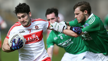Hold on: Fermanagh's Mickey Jones closes in on Danny Heavron