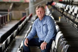 Former Cliftonville manager Marty Quinn