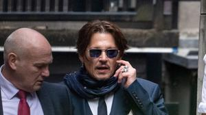 Johnny Depp leaves the High Court in London (Aaron Chown/PA)