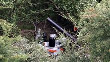 A general view of an army robot at work near the village of Cullyhanna, Northern Ireland, where a dissident republican-style rocket launcher has been discovered. PRESS ASSOCIATION Photo. Picture date: Wednesday August 28, 2013. Troops were involved in a massive security operation close to the border with the Irish Republic in south Armagh. The alert, near the village of Cullyhanna, has been continuing for several days. See PA story ULSTER Alert. Photo credit should read: Paul Faith/PA Wire