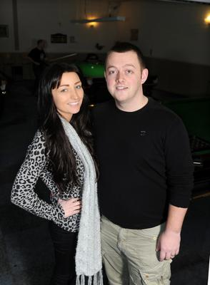 Mark Allen and his wife Kayla