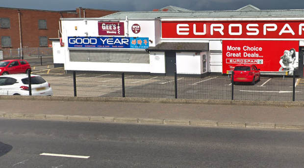 The incident took place near a shop on the Glendermott Road. Credit: Google
