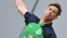 Pace attack: Boyd Rankin returns to boost Ireland's bowling options. Photo: Rowland White/INPHO