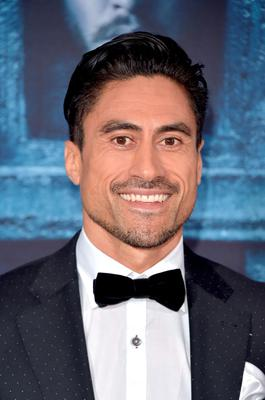 """HOLLYWOOD, CALIFORNIA - APRIL 10:  Actor Joe Naufahu attends the premiere of HBO's """"Game Of Thrones"""" Season 6 at TCL Chinese Theatre on April 10, 2016 in Hollywood, California.  (Photo by Alberto E. Rodriguez/Getty Images)"""