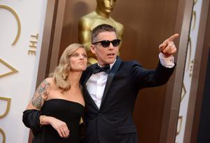 Ethan Hawke, right, and Ryan Hawke arrive at the Oscars on Sunday, March 2, 2014, at the Dolby Theatre in Los Angeles.  (Photo by Jordan Strauss/Invision/AP)