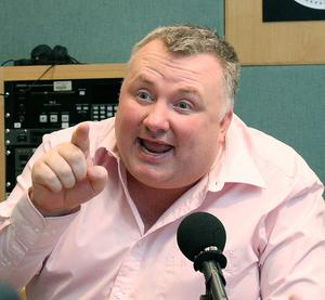 Sunday Life's David O'Dornan interview with Stephen Nolan at BBC Broadcasting House. Pictures Mark McCormick 27/09/12