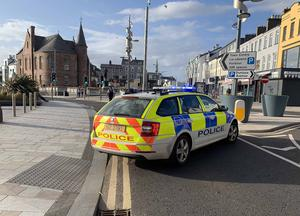 Emergency services attended an incident in Portrush.
