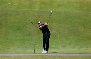 England's Ian Poulter on the fifth fairway during day three of the Dubai Duty Free Irish Open at Portstewart Golf Club. PRESS ASSOCIATION Photo. Picture date: Saturday July 8, 2017. See PA story GOLF Irish. Photo credit should read: Niall Carson/PA Wire. RESTRICTIONS: Editorial use only. No commercial use.