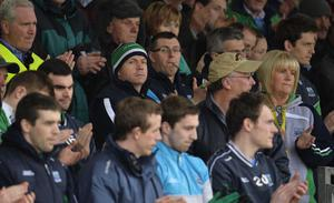 """4th May 2013 """"Together For Sam"""" Fundraising G.A.A. Match between Fermanagh and Mayo at Brewster Park, Enniskillen Fermanaghs Manager Peter Canavan at Saturday Nights Game."""