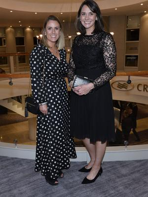Press Eye - Belfast - Northern Ireland - 20th January  2020  Maeve Galvin and Ann Smyth pictured at the 2019 Belfast Telegraph Sport Awards at the Crowne Plaza Hotel in Belfast. Photo by Stephen Hamilton / Press Eye.