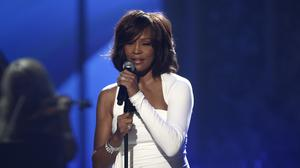 Whitney Houston performs at the 37th Annual American Music Awards in Los Angeles (Matt Sayles/AP)