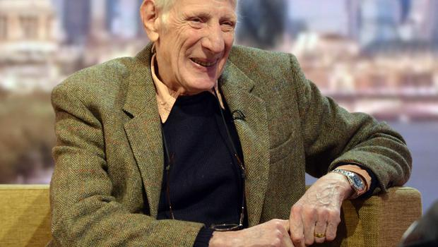 Sir Jonathan Miller, appearing on the Andrew Marr Show (Jeff Overs/BBC)