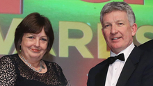 Hero: The Local Heroes Award Winner was the late Philip Duke, who passed away last year. The award presented by Julie Hastings of the Hastings Hotel Group was collected by Philip's brother, Peter