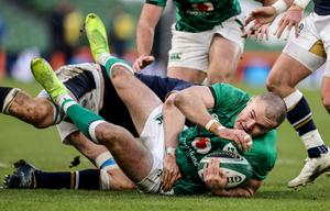 Jacob Stockdale looks set to stay in the number 15 shirt for Ireland.