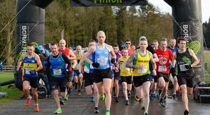 Belfast Telegraph - Run Forest Run - Gosford, Markethill - 18th January 2020 - Photograph by Mervyn McKeown, My Sports Photo