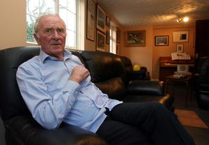 Harry Gregg, former Manchester United goalkeeping legend- OBE for services to Football. (Paul Faith/PA)