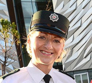 PSNI Inspector Rosie Leech- MBE for services to Policing and the Community in Northern Ireland. Credit: PA