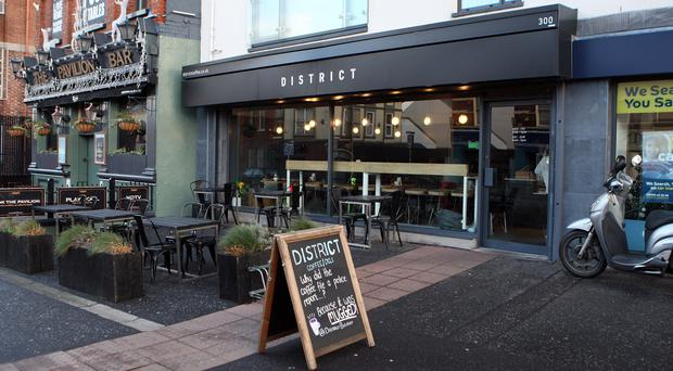 Home comforts: District Coffee delivers on food and service