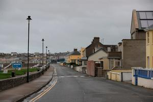 Empty streets in Kilkee, Ireland as Hurricane Ophelia hits the UK and Ireland with gusts of up to 80mph.Niall Carson/PA Wire