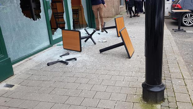 A man has been arrested following an incident at a shop on Main Street, Limavady.