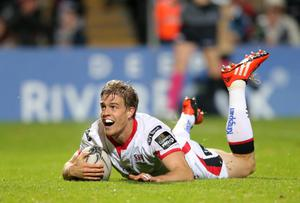 Ulster's Andrew Trimble has been named Player of the Year