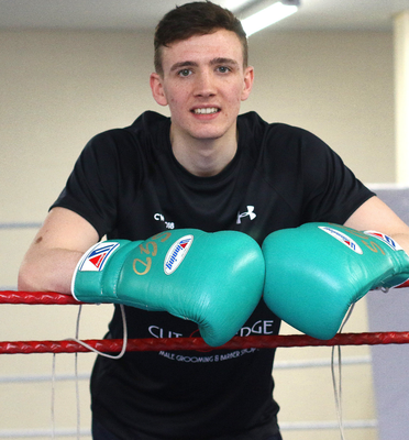 Brendan Irvine is among four Ulster boxers heading to the European Olympic qualifiers in London next month