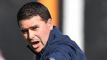 Pointing the way: David Healy wants no let-up in the chase for success. Photo:  Charles McQuillan/Pacemaker