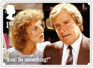 Deirdre and Ken Barlow (Royal Mail)