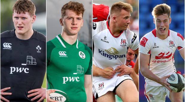 Jack Regan, Azur Allison, Stewart Moore and Ethan McIlroy are all in line for senior Ulster debuts on Friday evening.