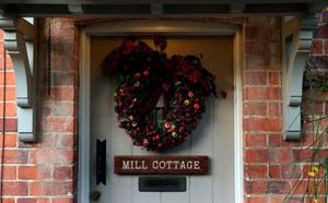 Mill Cottage, the Goring house of George Michael in Oxfordshire as the pop superstar has died at the age of 53 from suspected heart failure.