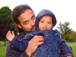Arthur Simpson-Kent (left), 48, and Amon, four, the partner and son of Sian Blake, 43, who are all missing along with Sian's other son Zachary.