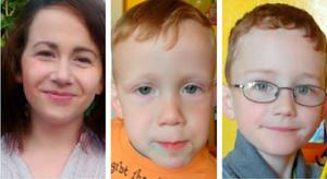 Missing Wicklow family Joanna Rose and her sons Ben and Vincent