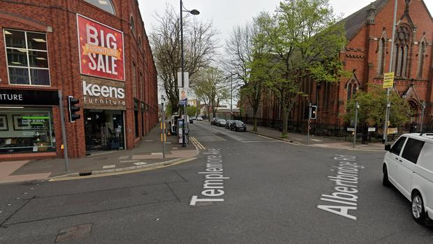 A man was attacked at the Templemore Avenue/Albertbridge Road junction.