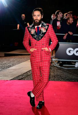 Jared Leto attending the GQ Men of the Year Awards 2017. Ian West/PA Wire