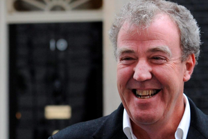 """Top Gear host Jeremy Clarkson who has been suspended by the BBC """"following a fracas"""" with a producer."""