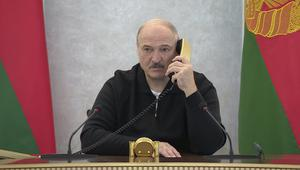 Protesters claim the poll which saw President Alexander Lukashenko re-elected for a sixth term was rigged (AP)