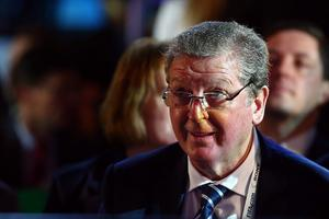 COSTA DO SAUIPE, BRAZIL - DECEMBER 06:  England manager Roy Hodgson attends the Final Draw for the 2014 FIFA World Cup Brazil at Costa do Sauipe Resort on December 6, 2013 in Costa do Sauipe, Bahia, Brazil.  (Photo by Clive Mason/Getty Images)