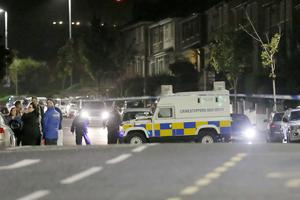 A man has been shot dead in north Belfast. Shooting occurred in the Sunningdale Gardens area, off the Ballysillan Road, at around 9.50pm  on Sunday the 7th August 2016 ( Photo by Kevin Scott / Presseye )