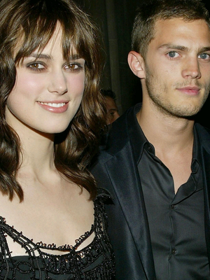 Attention fell on Jamie Dornan when he started dated actress Keira Knightley in 2003