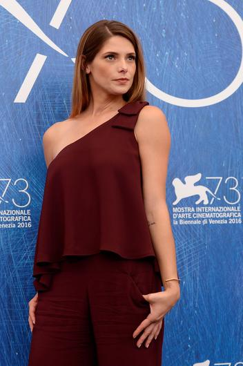 "Actress Ashley Greene attends the photocall of the movie ""In Dubious Battle"" presented out of competition at the 73rd Venice Film Festival on September 3, 2016 at Venice Lido.FILIPPO MONTEFORTE/AFP/Getty Images"